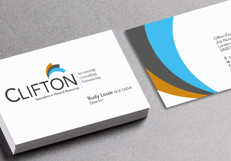 Clifton business card