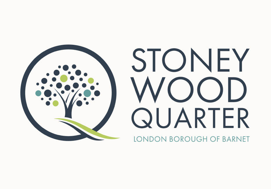 Stoney Wood Quarter logo design