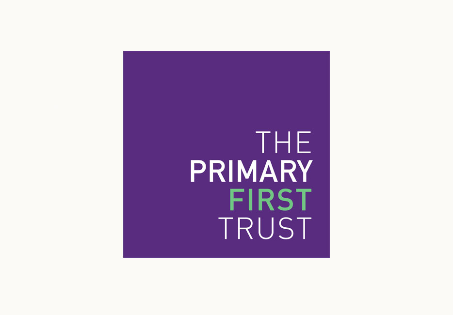 The Primary First Trust logo design