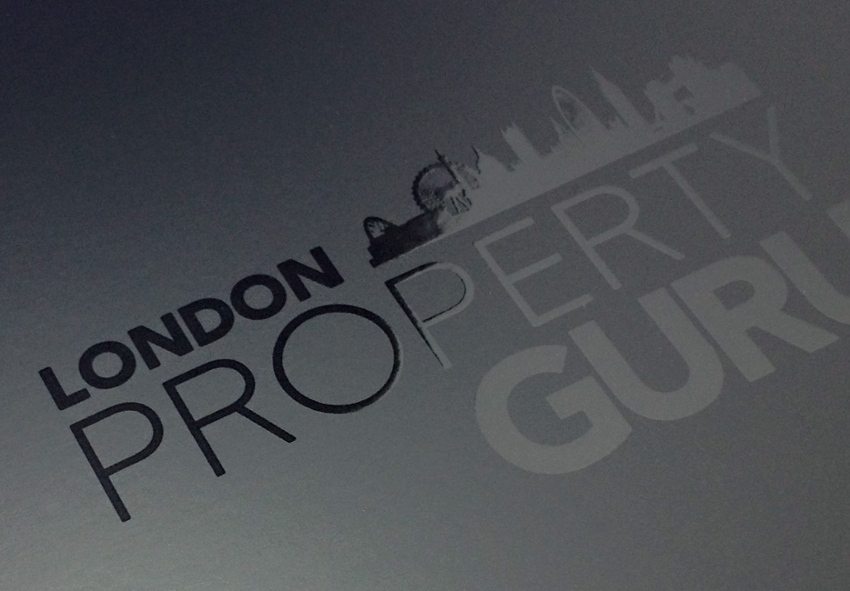 London Property Guru A4 folder
