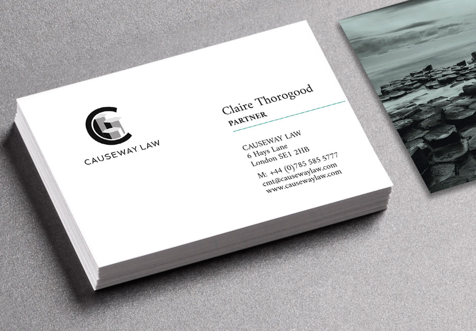 Causeway Law business card